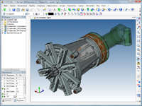 Parametric Model of Multi-spindle Drilling Head